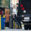 Miley Cyrus – Goes to my Friend's Place youth service in Hollywood
