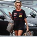 Amber Turner – 'The Only Way Is Essex' TV show filming in Brentwood - 454 x 681
