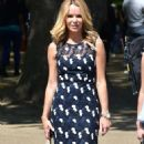 Amanda Holden at St James Park in London - 454 x 819