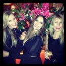 Sasha Volkova, Laura Bardiger, Meredith Ostrom at Tatler Little Black Book Party London, England 2013