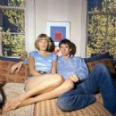 Anthony Perkins and Berry Berenson - 454 x 452