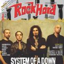 Shavo Odadjian, John Dolmayan, Daron Malakian - Rock Hard Magazine Cover [Italy] (May 2011)
