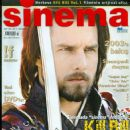 Tom Cruise - Sinema Magazine Cover [Turkey] (February 2004)