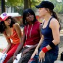 (L TO R) DANIELLE POLANCO, TELISHA SHAW, BRIANA EVIGAN. Photo Credit: Karen Ballard. ©2007 Touchstone Pictures and Summit Entertainment, LLC. All rights reserved. - 454 x 303