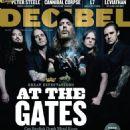 Anders Fridén, Bjorn Gelotte, Daniel Svensson, Peter Iwers, Niclas Engelin - Decibel Magazine Cover [United States] (November 2014)