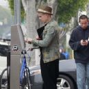 Semi-Exclusive: Singer Pink made her way out in Venice, California on February 24, 2012 for lunch at THe Firehouse