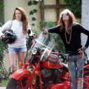 Steven Tyler and Aimee Preston - 454 x 533