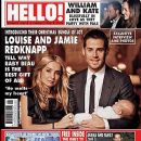 Louise Redknapp, Jamie Redknapp - Hello! Magazine Cover [United Kingdom] (6 January 2009)