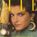Stephanie Seymour - Elle Magazine Pictorial [France] (January 1987)