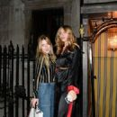 Abbey Clancy – Leaving Peanuts 1st birthday in London - 454 x 691