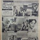 Romy Schneider - Festival Magazine Pictorial [France] (13 December 1960) - 454 x 595