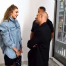 Gigi Hadid – Wardrobe.NYC Launch of Release 04 DENIM & Levi's® Collaboration in NY