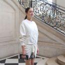 Marion Cotillard : Christian Dior : Paris Fashion Week Womenswear Spring/Summer 2017