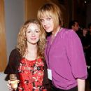 Designer Marissa Ribisi (L) and actress Mariah O'Brien attend the after party for the Whitley Kros Spring 2009 fashion show during Mercedes-Benz Fashion Week held at Smashbox Studios on October 12, 2008 in Culver City, California - 454 x 473