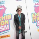 Keith Richards of The Rolling Stones attends The Rolling Stones celebrate the North American debut of Exhibitionism at Industria in the West Village on November 15, 2016 in New York City - 454 x 334