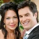 Rick Hearst and Hunter Tylo