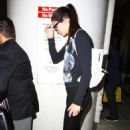 Kendall Jenner In Spandex At Lax Airport