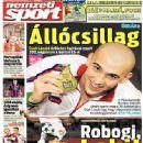 Nemzeti Sport - Nemzeti Sport Magazine Cover [Hungary] (21 August 2014)