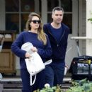 Jessica Alba and Cash Warren out in West Hollywood (November 12, 2017) - 454 x 479