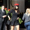 April Love Geary – Arrives at the Costes hotel in Paris - 454 x 700