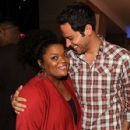 Zachary Levi and Yvette Nicole Brown - 427 x 594