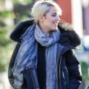 Dianna Agron Out With A Friend In New York