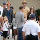 Angelina Jolie and Brad Pitt in Malta (Sept. 19, 2014)
