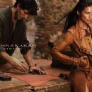 Adriana Lima for Donna Karan Spring/Summer 2014 Ad Campaign
