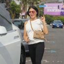 Jenna Dewan – Leaves a business meeting in West Hollywood