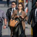 Jessica Alba – Arriving at Jimmy Kimmel Live! in LA