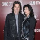 Warren DeMartini and Kathy Naples-demartini attend the premiere of 'Sound City' at ArcLight Cinemas Cinerama Dome on January 31, 2013 in Hollywood, California
