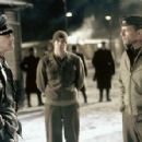 Marcel Iures, Colin Farrell and Bruce Willis in MGM's Hart's War - 2002