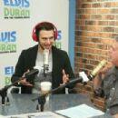"""Ryan Guzman vsits """"The Elvis Duran Z100 Morning Show"""" at Z100 Studio on January 21, 2015 in New York City"""