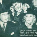 Una Merkel and Ronald Burla