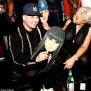 Blac Chyna and Rob Karashian at Blac Chyna's Chymoji App Launch Party at The Hard Rock Cafe in Los Angeles, California - May 10, 2016 - 454 x 375