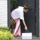 Ana De Armas gets sushi meal delivered at Ben Aflek's home in LA