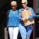 Amber Rose and Her Mom Out in Los Angeles, California - September 14, 2015