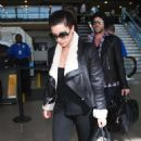 Kim Kardashian Jets Home After Philadelphia Fill-In