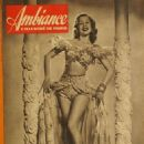 Olga San Juan - Ambiance Magazine Pictorial [France] (10 March 1948) - 454 x 586