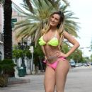 ANDRESSA URACH in Bikini on the Beach in Miami