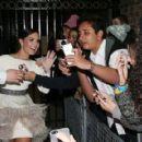 Demi Lovato Leaving The London Palladium In London