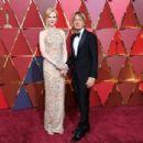 Keith Urban and Nicole Kidman At The 89th Annual Academy Awards - Arrivals (2017) - 454 x 305