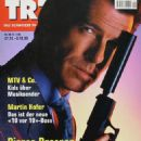 Pierce Brosnan - TR7 Magazine Cover [Switzerland] (27 November 1999)
