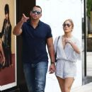 Jennifer Lopez and Alex Rodriguez – Out in Miami