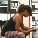 Christina Milian – Shopping at Sephora in Los Angeles