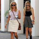Reese Witherspoon and her daughter Ava are seen leaving her office in Beverly Hills, California on July 29, 2015