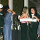 Selena Gomez and Caleb Stevens at the Forum in Inglewood