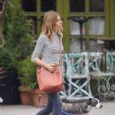 Sienna Miller – Walks her dog in New York City