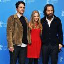 Amanda Seyfried, James Franco and Peter Sarsgaard at the Berlin Film Festival (February 8)