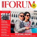 Amal Alamuddin, George Clooney - Forum Magazine Cover [Poland] (10 October 2014)